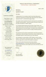 Legacy letter Celebrate